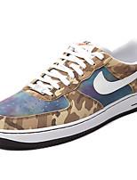 Nike Air Force 1 Sneaker Men's Skate shoes Men's Basketball Shoes Leather Black / Green