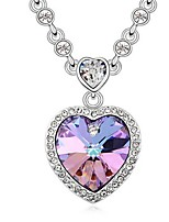 Thousands of colors  Women's Alloy Necklace Daily Crystal-1-849