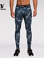 Running Bottoms Men's Quick Dry / Compression / Lightweight Materials Running Sports Others
