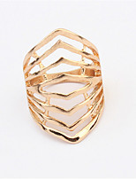 2016 New Design Fashion Luxury 18K Rose Gold Plated Multilayer Ring Genuine Rings For Women Man