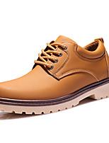 Men's Shoes Casual PU Fashion Sneakers Black / Blue / Yellow