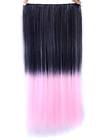 Straight Pink Colorful Human Hair Lace Wigs 1T203C
