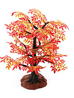 Building Sand Table Model Simulation Tree Resin Plant Toy Red Maple Mini Gardening Scene