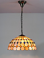 14 inch Retro Tiffany Pendant Lights Shell Shade Living Room Dining Room light Fixture
