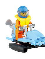 6071 jouets éducatifs pour enfants blocs chauds de construction de jouets créatifs assemblés au prix directs (10pcs)