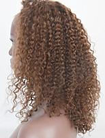 20-24inch человека парики шнурка волос кудрявый локон парики шнурка передние волосы