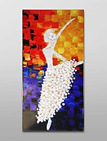 Hand-painted Oil Painting These Thick Texture Ballet Girl Decor with Stretched Frame