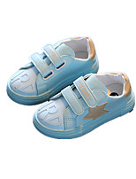 Childrens' Shoes Athletic / Casual Leatherette Fashion Sneakers Blue / Yellow / Pink