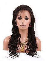 10-26 дюймов 10a объемная волна бразильских виргинских волос шнурка шрифта парик человеческих волос для женщин моды