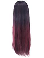 parrucca del legare ad alta temperatura del vino rosso 70 centimetri cos parrucca di colore 1t118