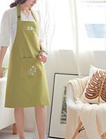100% coton tabliers cuisine cuisson couleur verte