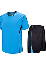 Others Kid's Short Sleeve Soccer Clothing Sets/Suits Breathable / Quick Dry / Wicking Others Fitness / Running