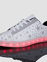 Men's LED Shoes USB Charging Outdoor/Athletic/Casual Fashion Sneakers Black/White
