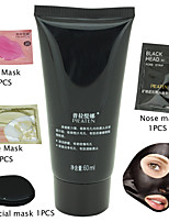 4 In 1 PILATEN Face Lip Nose Eye Mask Facial Care Deep Cleansing Peel Off Removal Blackhead