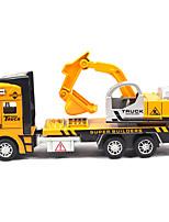 Children's toy car truck 1:48 back of alloy car model toy excavators 1:48 excavators (9PCS)