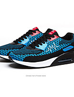 Women's Shoes Tulle Spring Comfort Athletic Flat Heel Black / Royal Blue