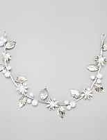 Women's / Flower Girl's Alloy / Imitation Pearl Headpiece-Wedding / Special Occasion Headbands 1 Piece