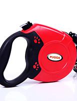 Hundar Halsband / Koppel Justerbara/Infällbar Röd / Svart / Blå / Grå Plast / Nylon
