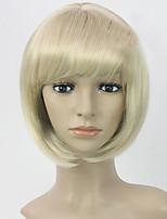 Women Lady Short BoBo Straight Hair Synthetic Hair Wigs