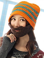 Unisex Anti-snow Beard Masks Fall And Winter Hat Knitted Wool Hat