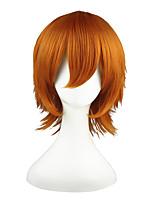 Axis powers -Rovino·Vargas Orange 14inch Anime Cosplay Wig CS-019A