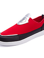 Men's Fashion qp Canvas Slip on Loafers Comfortable Skate Shoes