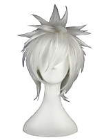 DEATH NOTE-Nate River White 14inch Anime Cosplay Wig CS-006A