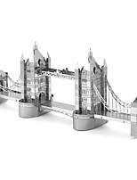 Puzzle 3D Puzzle / modelli in metallo Costruzioni Giocattoli fai da te Metallo Argento Modellino e gioco di costruzione