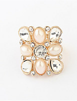 Beauty Pearl Ring Geometry Gifts