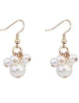 Drop Earrings Women's Imitation Pearl / Alloy Earring Imitation Pearl