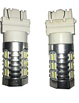 2 PCS 3157 24W 24 SMD For Cruze Car LED Turn Signal Lamp, Car Brake Lamp, Car Back-up Lamp