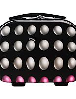 DAVIDJONES Women's Fashion Casual Multifunctional Cosmetic Makeup Bag Storage Tote Organizer-Black