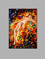 Sexy Nude Lady Modern Wall Art Home Decor People Handpainted oil Painting Ready To Hang Good Quality