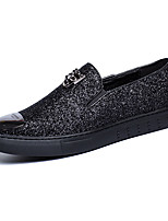 Men's Shoes Office & Career / Casual Canvas Loafers Black