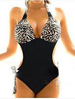 Victoria's Secret Swimsuit in Europe and America Leopard-Piece Bikini Swimsuit