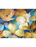 JAMMORY Floral Wallpaper Classical Wall Covering,Canvas Large Mural  Abstract Oil Painting Flowers