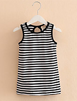 2016 Baby Girl Dress, Striped Girls Princess Dresses For Kids Clothing Girls' Dresses Costumes