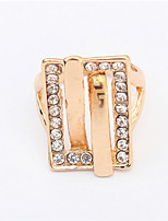 Exaggerated Fashion Belt Ring