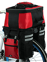Mala para Bagageiro de Bicicleta/Alforje para Bicicleta / Bolsas de ciclo Á Prova-de-Água / Camurça de Vaca á Prova-de-Choque / Vestível