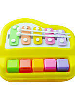Yellow Child Hand Knock Piano for Children Above 3 Musical Instruments Toy