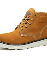 Men's Shoes Outdoor / Athletic / Casual Suede Boots Brown