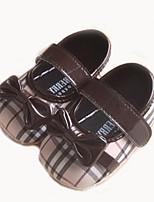 Chaussures bébé-Marron-Extérieure-Tissu-Plates