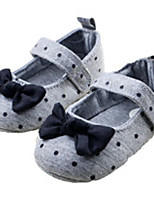 Baby Shoes Outdoor Cotton Flats Gray