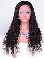 Full Lace Wig With Baby Hair Unprocessed Peruvian Virgin Loose Curly Full Lace Human Hair Curly Wigs For Fashion Women