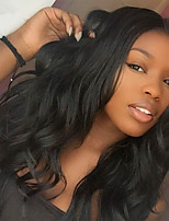 7A Hot Body Wave Wigs With Baby Hair Glueless Virgin Malaysia Lace Front Human Hair Wigs For Black Women's