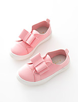 Girls' Shoes Casual Comfort Leatherette Loafers Pink / White
