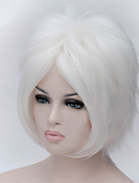 The New Wig Anime Characters cos 30 Inch Points Turned Up in White Hair