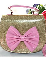 Women-Casual-PU-Shoulder Bag-Pink / Blue / Gold / Fuchsia