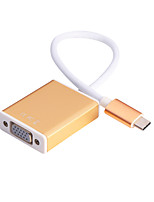 Type C to VGA Cable (Gold)