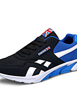 Men's Shoes Casual Tulle Fashion Sneakers Black / Blue / Red